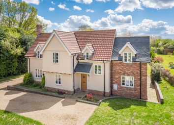 Thumbnail 4 bed detached house for sale in Rockalls Road, Polstead, Colchester