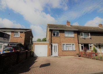 Thumbnail 3 bedroom end terrace house for sale in Sams Lane, Blunsdon, Swindon