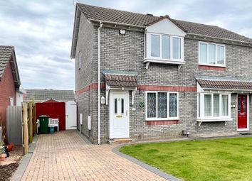 Thumbnail 2 bed semi-detached house for sale in Sgubor Goch, Llanharry