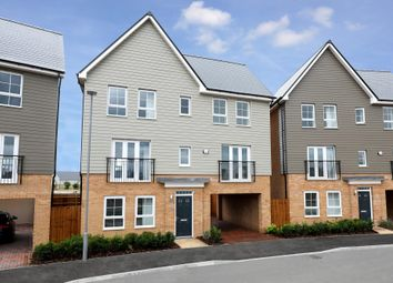 "Thumbnail 4 bedroom detached house for sale in ""Taunton"" at Fen Street, Brooklands, Milton Keynes"