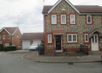 Thumbnail 3 bed semi-detached house to rent in Foxwood Grove, Northfleet, Gravesend