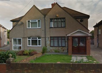 Thumbnail 3 bed semi-detached house to rent in Vine Close, West Drayton