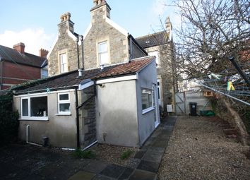 Thumbnail 1 bed flat to rent in Old Church Road, Clevedon
