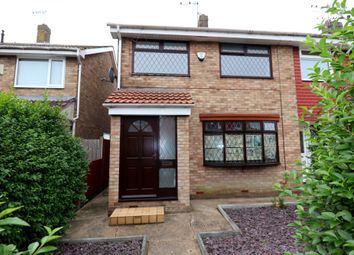 Thumbnail 3 bed end terrace house for sale in Grizedale, Sutton Park, Hull, Yorkshire