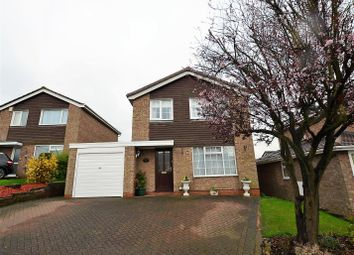 Thumbnail 3 bedroom detached house for sale in Bradwell Close, Mickleover, Derby