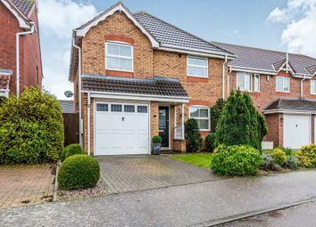 Thumbnail 3 bed detached house for sale in Campaign Close, Wootton, Northampton
