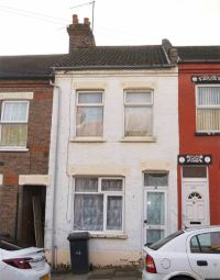 Thumbnail 2 bed terraced house for sale in Warwick Road West, Luton, Bedfordshire