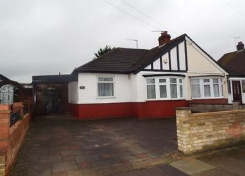 Thumbnail 2 bed bungalow to rent in Ashley Avenue, Ilford
