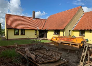 Thumbnail Detached bungalow for sale in Little Cornard, Sudbury, Suffolk