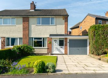 Thumbnail 3 bed semi-detached house for sale in Highwood Grove, Leeds, West Yorkshire