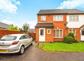 Thumbnail 3 bed semi-detached house for sale in Bramham Close, Leicester