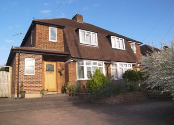 Thumbnail 3 bedroom semi-detached house for sale in Common Road, Claygate, Esher