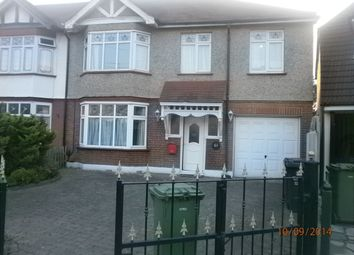 Thumbnail 5 bed terraced house to rent in Mill Lane, Romford
