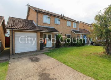 Thumbnail 3 bedroom semi-detached house for sale in Keyham Court, Star Mews, Peterborough