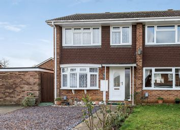 Thumbnail 3 bed end terrace house for sale in Rosebay Close, Flitwick