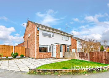 Thumbnail 2 bed semi-detached house for sale in Trispen Close, Halewood, Liverpool