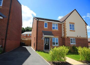 Thumbnail 3 bed semi-detached house for sale in Knowles View, Talke, Stoke-On-Trent