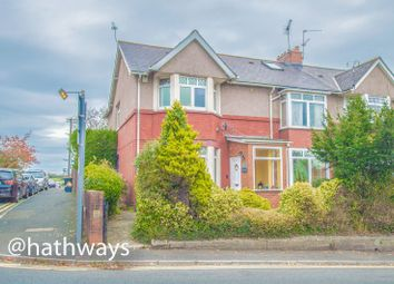 Thumbnail 4 bed terraced house for sale in Station Road, Caerleon, Newport