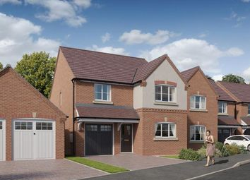 Thumbnail 4 bed detached house for sale in Palmerston Drive, Tividale