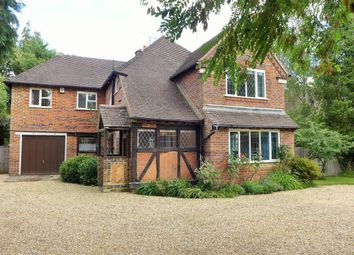 Thumbnail 5 bed detached house to rent in Kings Road, Fleet