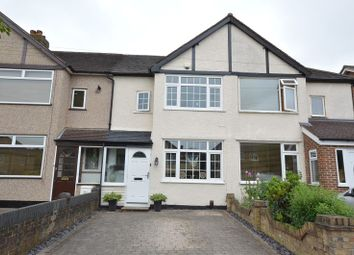 Thumbnail 2 bed terraced house for sale in Ashby Avenue, Chessington, Surrey.