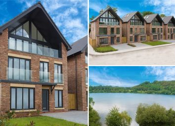 Thumbnail 4 bedroom detached house for sale in Mere View, Astbury Mere, Congleton, Cheshire