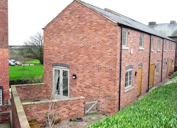Thumbnail 3 bedroom end terrace house for sale in Mill Yard, The Flour Mills, Burton-On-Trent