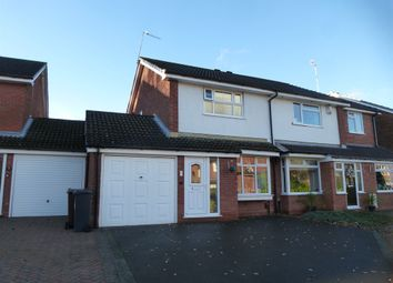 Thumbnail 2 bed semi-detached house for sale in Needhill Close, Knowle, Solihull