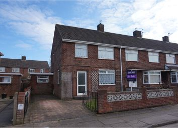 Thumbnail 3 bed end terrace house for sale in Taunton Way, Scartho