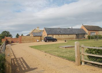 Thumbnail 4 bed barn conversion to rent in Oundle Road, Elton, Peterborough