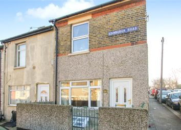 Thumbnail 2 bed end terrace house for sale in Edinburgh Road, Chatham, Kent