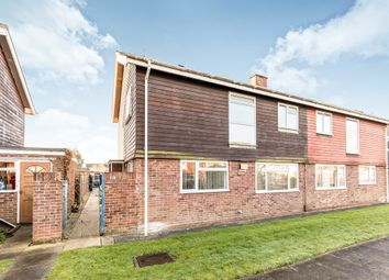 Thumbnail 3 bed semi-detached house for sale in Beaulieu Place, Gosport