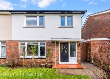 Thumbnail 3 bed semi-detached house for sale in Harvester Road, Epsom