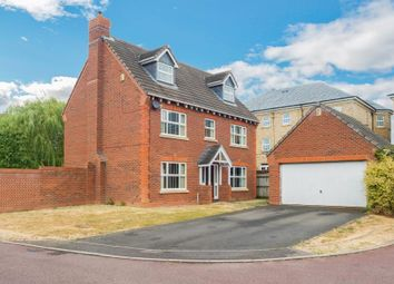 Thumbnail 5 bed detached house for sale in Rowan Close, Grange Park, Northampton