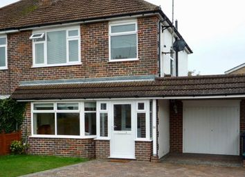 Thumbnail 3 bed semi-detached house to rent in Downlands Avenue, Bexhill On Sea