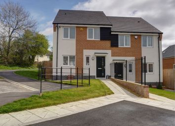 Thumbnail 3 bed semi-detached house for sale in Burnham Avenue, Newcastle Upon Tyne