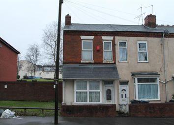 Thumbnail 3 bedroom end terrace house for sale in Watt Street, Handsworth, Birmingham