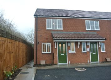 Thumbnail 2 bed end terrace house to rent in Equestrian Grove, Tannery Court, Walsall