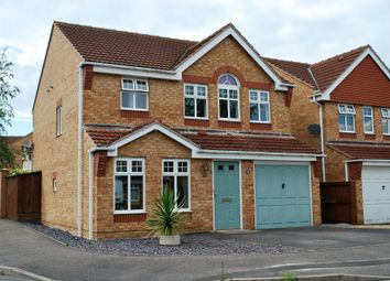 Thumbnail 4 bed detached house to rent in Cambridge Meadows, Newark