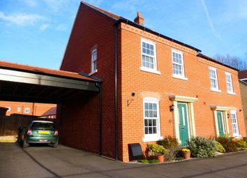 Thumbnail 3 bedroom semi-detached house for sale in Brocklehurst Road, Kempston, Bedford