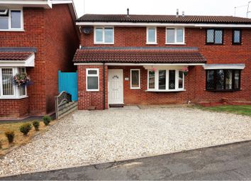 Thumbnail 4 bed semi-detached house for sale in Stephenson Drive, Perton, Wolverhampton