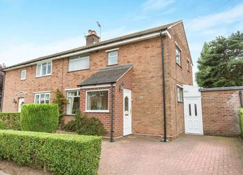 Thumbnail 3 bed semi-detached house for sale in Manor Road, Cuddington, Northwich
