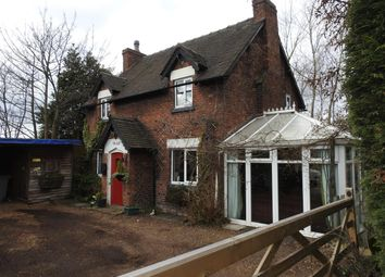 Thumbnail 3 bed detached house for sale in Sycamore Cottage, Manchester Road, Carrington, Manchester