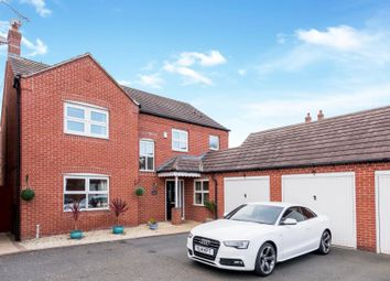 Thumbnail 5 bed detached house for sale in Ward Close, Lichfield