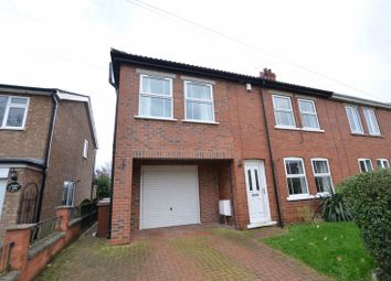 Thumbnail 4 bed semi-detached house for sale in Cornwall Street, Kirton Lindsey, Gainsborough