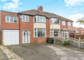 Thumbnail 4 bed semi-detached house for sale in Stanton Grove, Shirley, Solihull