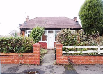 Thumbnail 1 bed detached bungalow to rent in Kingsdale Road, Debdale Park, Manchester
