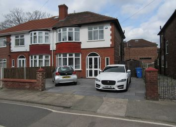 Thumbnail 3 bed semi-detached house for sale in Welney Road, Firswood, Manchester