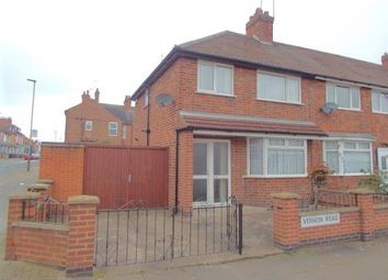 Thumbnail 3 bedroom end terrace house for sale in Vernon Road, Aylestone, Leicester, Leicestershire