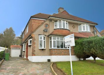 Thumbnail 4 bed semi-detached house for sale in Courtfield Rise, West Wickham
